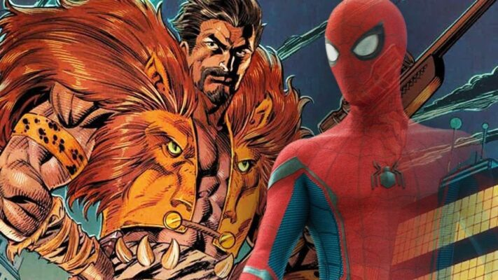 cropped Spider Man and Kraven the Hunter 1