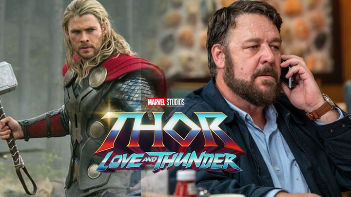 Thor Love and Thunder : Russell Crowe révèle enfin son rôle